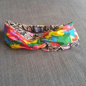 FREE w/ $50 Purchase Zara Reversible Knot Headwrap